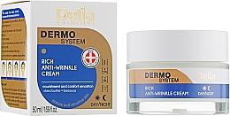 Fragrances, Perfumes, Cosmetics Anti-Aging Face Cream - Delia Dermo System Rich Anti-Wrinkle Cream
