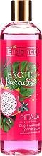 "Fragrances, Perfumes, Cosmetics Shower Gel ""Pitaya"" - Bielenda Exotic Paradise Bath And Shower Oil"