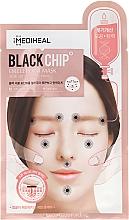 "Fragrances, Perfumes, Cosmetics Face Sheet Mask ""Black Chip"" - Mediheal Black Chip Circle Point Mask"