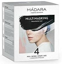 Fragrances, Perfumes, Cosmetics Set - Madara Cosmetics Multimasking Treatment Set (f/mask/12,5ml*4 + f/ampoule/3ml*2)