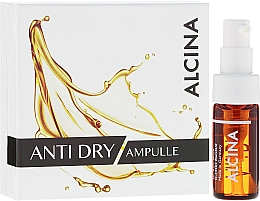Fragrances, Perfumes, Cosmetics Anti-Wrinkle Face Ampoule for Dry Skin - Alcina Anti Dry Ampulle