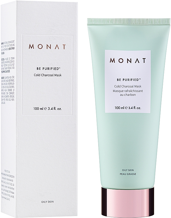 Cold Charcoal Face Mask - Monat Be Purified Cold Charcoal Mask — photo N2