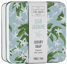 Fragrances, Perfumes, Cosmetics Star Jasmine Soap - Scottish Fine Star Jasmine Soap In A Tin