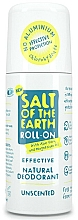 Fragrances, Perfumes, Cosmetics Roll-on Deodorant - Salt of the Earth Effective Unsented Roll-On Deo