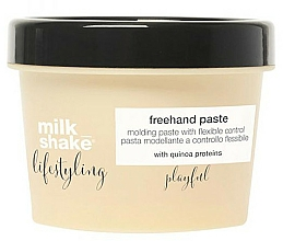 Fragrances, Perfumes, Cosmetics Hair Paste - Milk Shake Lifestyling Pasta Modeladora