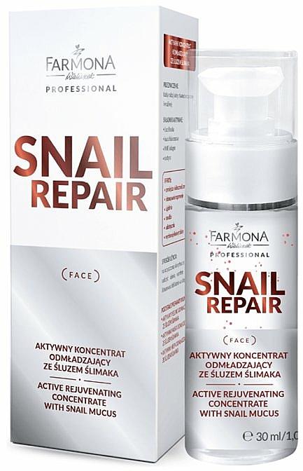 Active Rejuvenating Snail Mucin Concentrate - Farmona Professional Snail Repair Active Rejuvenating Concentrate With Snail Mucus