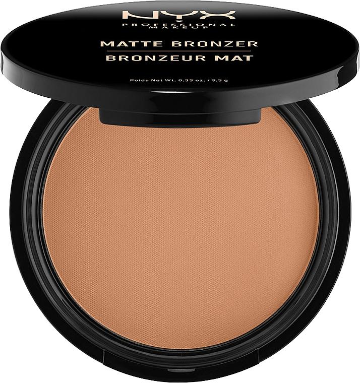 Matte Bronzing Powder - NYX Professional Makeup Matte Bronzer