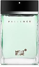 Fragrances, Perfumes, Cosmetics Montblanc Presence - Eau de Toilette