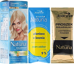 Fragrances, Perfumes, Cosmetics Hair Lightener - Joanna Hair Naturia Blond