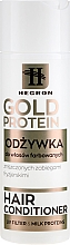 Fragrances, Perfumes, Cosmetics Color-Treated Hair Conditioner - Hegron Gold Protein Hair Conditioner