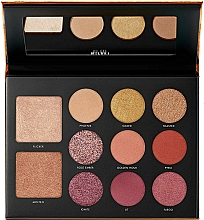 Fragrances, Perfumes, Cosmetics Makeup Palette - Milani Gilded Ember Hyper-Pigmented Eye & Face Palette