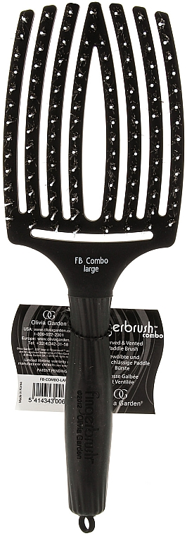 Combination Massage Brush, large - Olivia Garden Finger Brush Combo Large