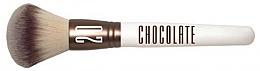 Fragrances, Perfumes, Cosmetics Powder Brush - Novara Chocolate No. 20 Taklon Loose Powder Brush