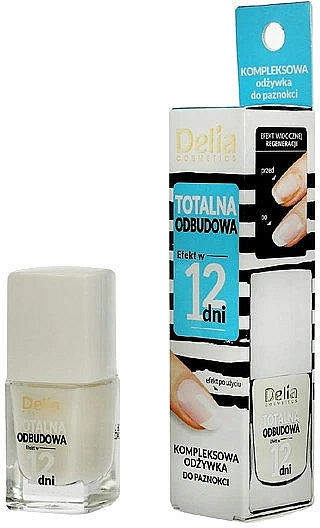 """Nail Conditioner """"Total Restoration in 12 Days"""" - Delia Super Total Restoration Nail Conditioner"""