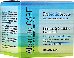 Fragrances, Perfumes, Cosmetics Balancing & Mattifying Cream-Gel - Absolute Care Prebiotic Beauty Balancing&Mattifying Cream-Gel