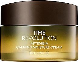 Fragrances, Perfumes, Cosmetics Soothing Cream - Missha Time Revolution Artemisia Calming Moisture Cream