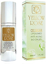 Fragrances, Perfumes, Cosmetics Rejuvenating Beauty Drops - Yellow Rose Cellular Liposomes Anti-Aging Bio-Drops
