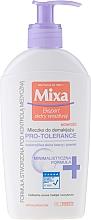 Fragrances, Perfumes, Cosmetics Face Milk - Mixa Pro-Tolerance Cleansing Milk