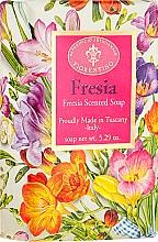 """Fragrances, Perfumes, Cosmetics Natural Soap """"Freesia"""" - Saponificio Artigianale Fiorentino Masaccio Freesia Soap"""