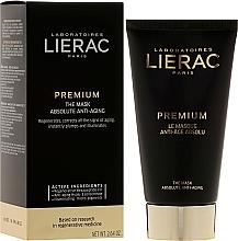 Fragrances, Perfumes, Cosmetics Premium Face Mask - Lierac Premium Supreme Mask