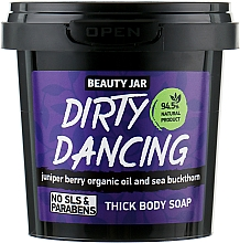 Fragrances, Perfumes, Cosmetics Thick Body Soap Dirty Dance - Beauty Jar Thick Body Soap