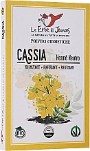 "Fragrances, Perfumes, Cosmetics Hair Powder ""Cassia"" - Le Erbe di Janas Cassia (Neutral Henna)"
