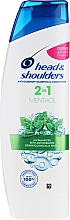 "Fragrances, Perfumes, Cosmetics Anti-Dandruff Shampoo 2in1 ""Menthol"" - Head & Shoulders 2in1 Menthol"