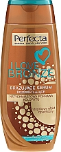 Fragrances, Perfumes, Cosmetics Bronzing Body Serum - Perfecta I Love Bronze Serum