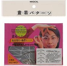Fragrances, Perfumes, Cosmetics Eyebrow Stencil Shaper, size C1, C2, C3, C4 - Magical Eyebrow Style
