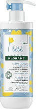 Fragrances, Perfumes, Cosmetics Cleansing Cream for Kids - Klorane Bebe Cleansing Cream with Cold Cream