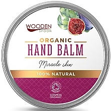 Fragrances, Perfumes, Cosmetics Hand Balm - Wooden Spoon Hand Balm Miracle Skin
