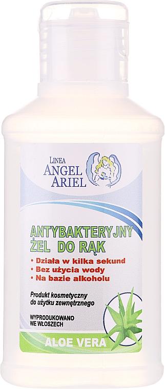 Antibacterial Hand Gel with Aloe Vera Extract - Linea Angel Ariel Antibacterial Hand Gel Aloe Vera