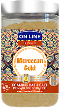 Fragrances, Perfumes, Cosmetics Bath Salt - On Line Senses Bath Salt Moroccan Gold