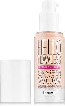 Fragrances, Perfumes, Cosmetics Foundation - Benefit Hello Flawless Oxygen Wow SPF25 PA+++