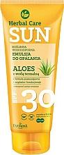 Fragrances, Perfumes, Cosmetics Waterproof Emulsion for Tan - Farmona Herbal Care Sun SPF 30