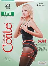 "Fragrances, Perfumes, Cosmetics Tights ""Style"" 20 Den, natural - Conte"