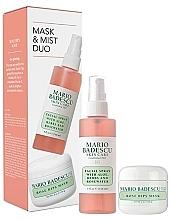 Fragrances, Perfumes, Cosmetics Set - Mario Badescu Rose Mask & Mist Duo Set (mask/56g + spray/118ml)