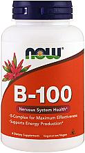 Fragrances, Perfumes, Cosmetics Vitamin B-100 - Now Foods Vitamin B-100 Veg Capsules