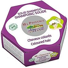 Fragrances, Perfumes, Cosmetics Solid Colored Hair Bio Shampoo - Ma Provence Solid Shampoo