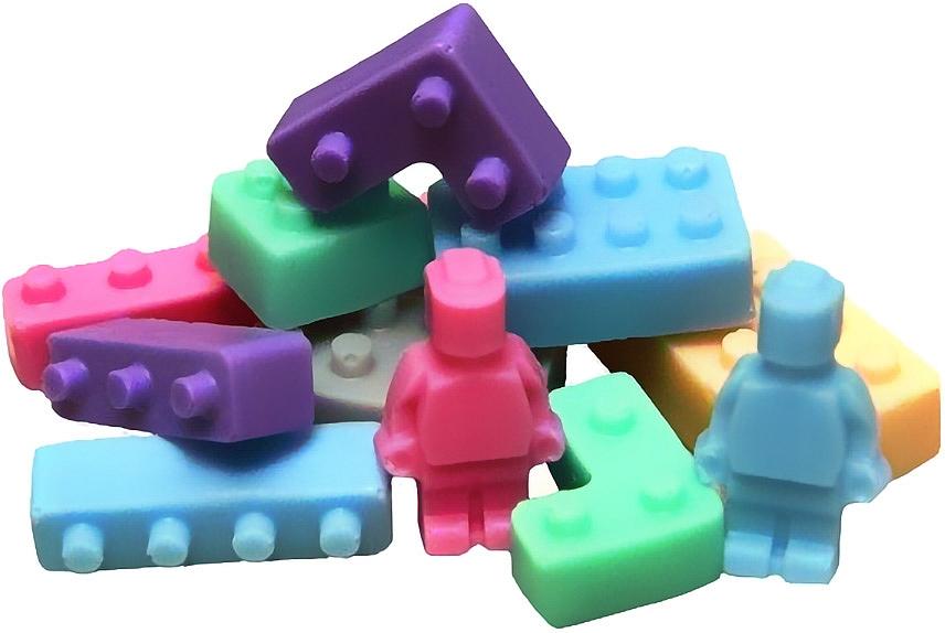"""Natural Soap """"Blocks mix"""" - LaQ Happy Soaps"""