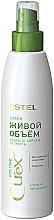 Fragrances, Perfumes, Cosmetics Natural Volume Spray for All Hair Types - Estel Professional Curex Volume Spray