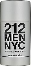 Fragrances, Perfumes, Cosmetics Carolina Herrera 212 For Man NYC - Deodorant Stick