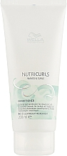 Fragrances, Perfumes, Cosmetics Curly Hair Conditioner - Wella Professionals Nutricurls Lightweicht Conditioner