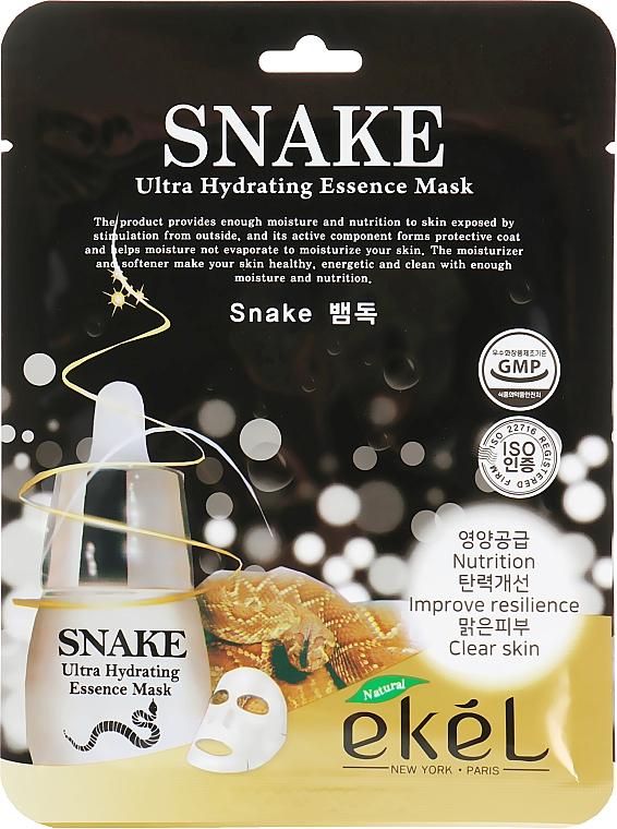 "Sheet Mask ""Botox Effect"" - Ekel Snake Ultra Hydrating Essence Mask"