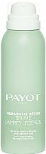 Fragrances, Perfumes, Cosmetics Anti-Heaviness Foot Spray - Payot Herboriste Detox Brume Jambes Legeres
