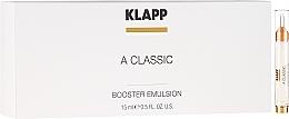 "Fragrances, Perfumes, Cosmetics Booster Emulsion ""Vitamin A"" - Klapp A Classic Booster Emulsion"