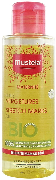 Non-Perfumed Anti-Stretch Marks Oil - Mustela Maternity Stretch Marks Oil Fragrance-Free