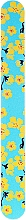 Fragrances, Perfumes, Cosmetics Nail File with Bright Pattern, 77586, blue - Top Choice
