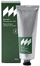 Fragrances, Perfumes, Cosmetics Shave Cream with Aloe Vera Extract - Monolit Skincare For Men Shave Cream With Aloe Vera Extract