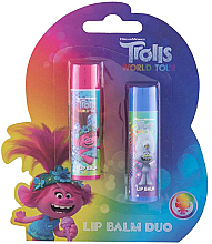 Fragrances, Perfumes, Cosmetics Set - Admiranda Trolls World Tour Duo Kit (lip/balm/4.2gx2)